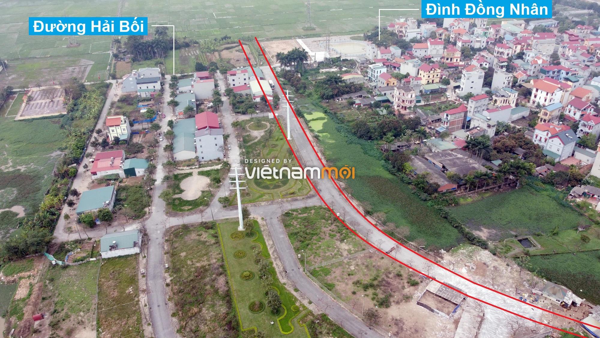 Đường sẽ mở theo quy hoạch ở xã Hải Bối, Đông Anh, Hà Nội (phần 5) - Ảnh 6.