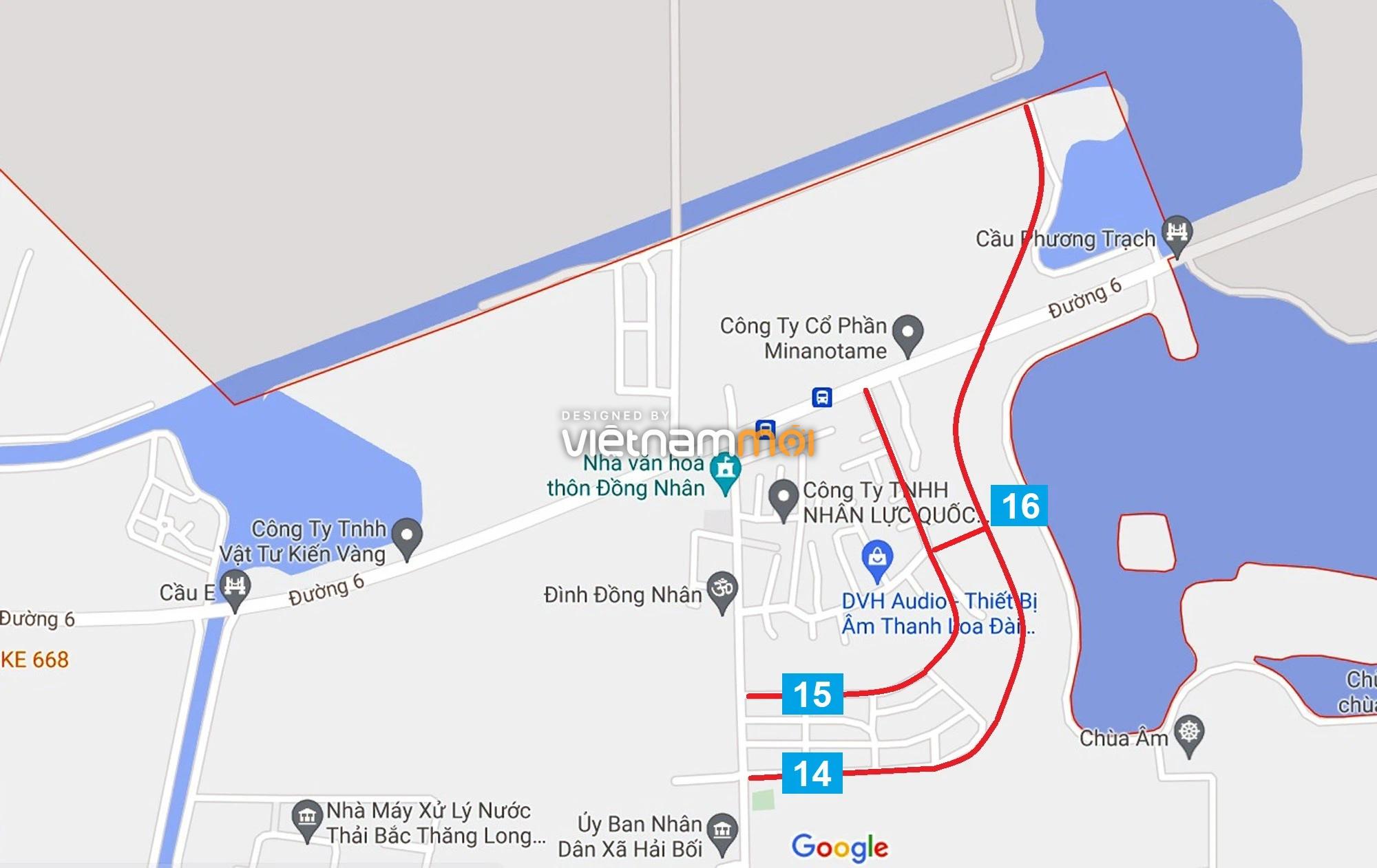 Đường sẽ mở theo quy hoạch ở xã Hải Bối, Đông Anh, Hà Nội (phần 5) - Ảnh 10.