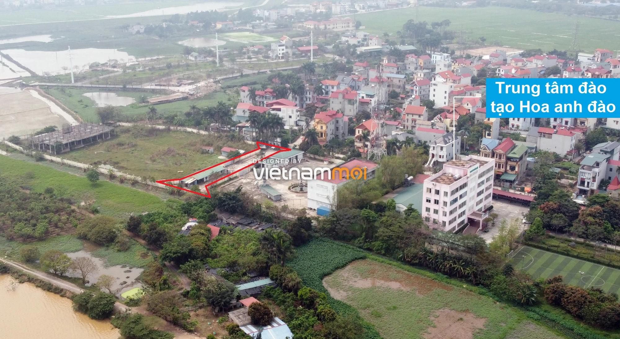 Đường sẽ mở theo quy hoạch ở xã Hải Bối, Đông Anh, Hà Nội (phần 5) - Ảnh 11.