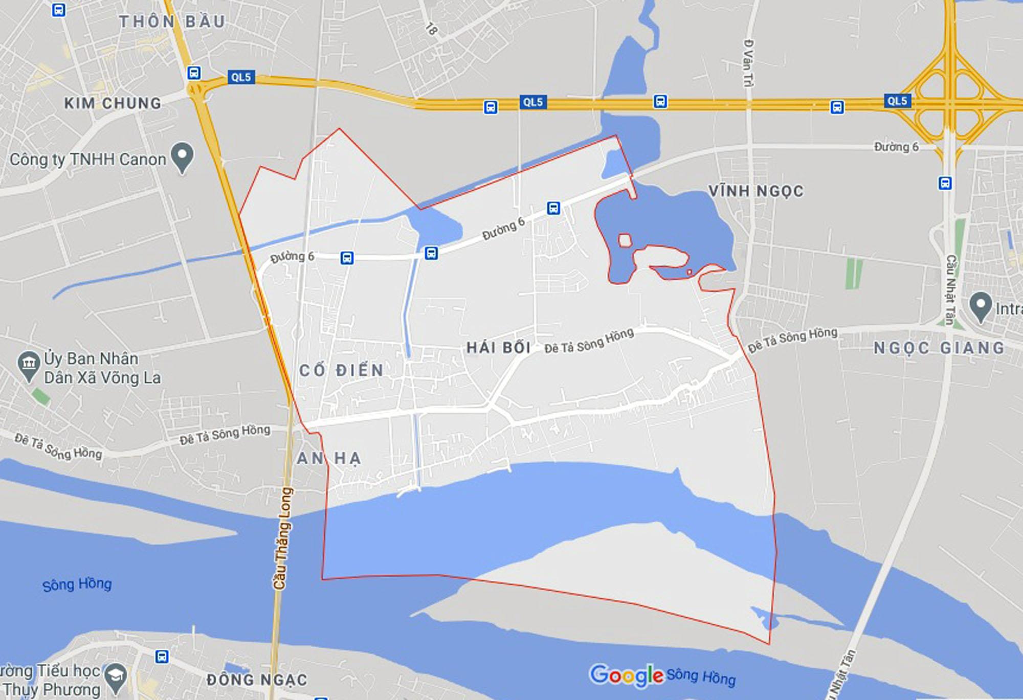 Đường sẽ mở theo quy hoạch ở xã Hải Bối, Đông Anh, Hà Nội (phần 5) - Ảnh 1.