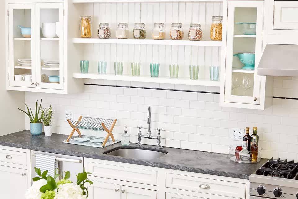 Mách bạn 5 cách sắp xếp nhà bếp gọn gàng và sạch sẽ - Ảnh 8.