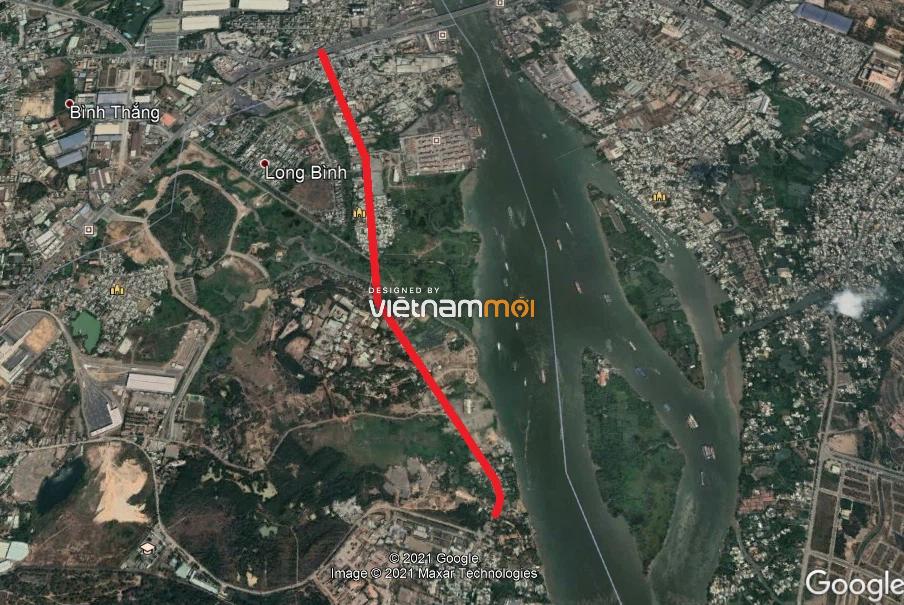 Vị trí sẽ mở Vành đai 3 qua TP Thủ Đức, TP HCM (phần 1): Đoạn từ cầu vượt Tân Vạn đến cầu Ông Tán - Ảnh 3.