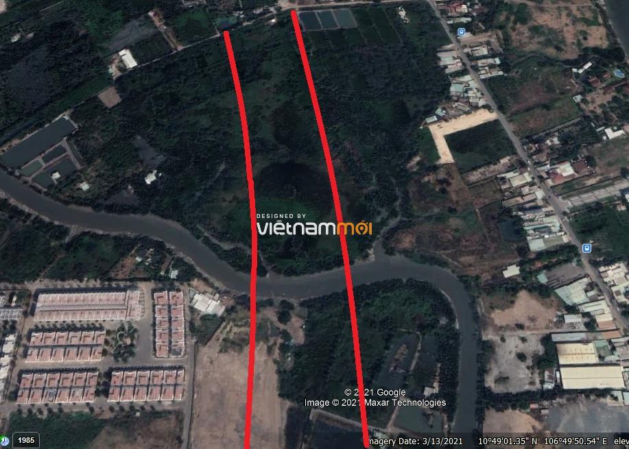 Vị trí sẽ mở Vành đai 3 qua TP Thủ Đức, TP HCM (phần 3): Đoạn từ chợ Gò Công tới đường Nguyễn Duy Trinh - Ảnh 8.