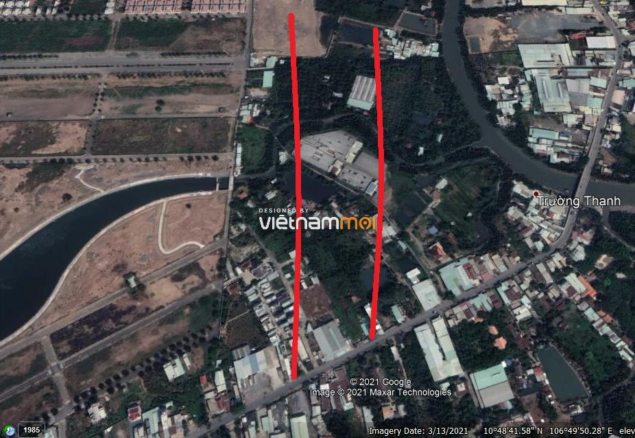 Vị trí sẽ mở Vành đai 3 qua TP Thủ Đức, TP HCM (phần 3): Đoạn từ chợ Gò Công tới đường Nguyễn Duy Trinh - Ảnh 9.