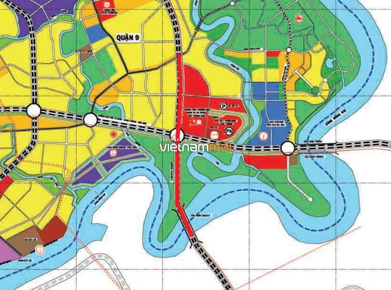 Vị trí sẽ mở Vành đai 3 qua TP Thủ Đức, TP HCM (phần 1): Đoạn từ đường Nguyễn Duy Trinh tới sông Soài Rạp - Ảnh 2.