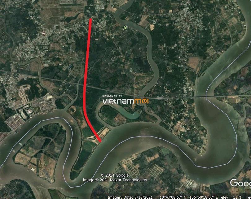 Vị trí sẽ mở Vành đai 3 qua TP Thủ Đức, TP HCM (phần 1): Đoạn từ đường Nguyễn Duy Trinh tới sông Soài Rạp - Ảnh 3.