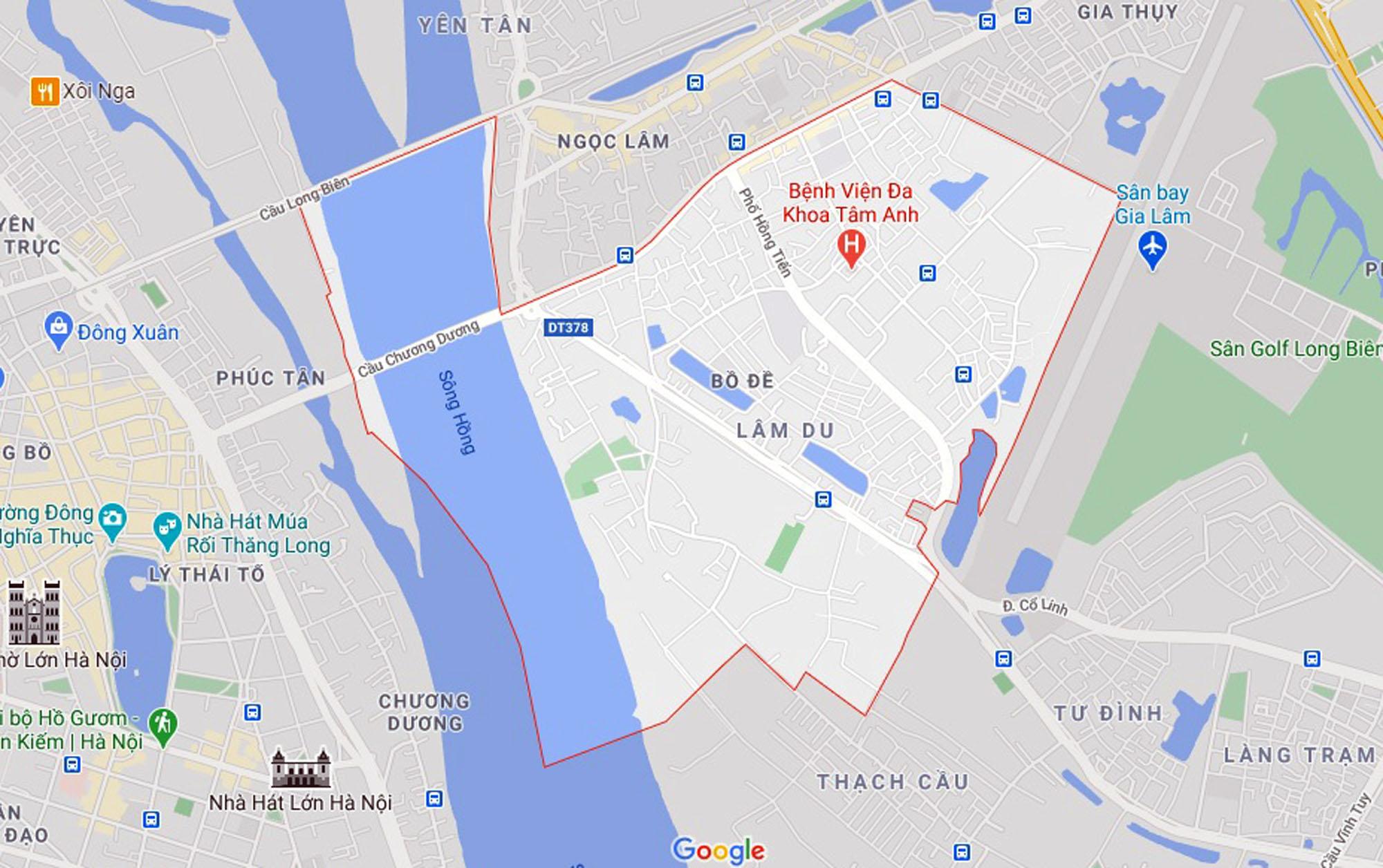 Những khu đất sắp thu hồi để mở đường ở phường Bồ Đề, Long Biên, Hà Nội (phần 1) - Ảnh 1.