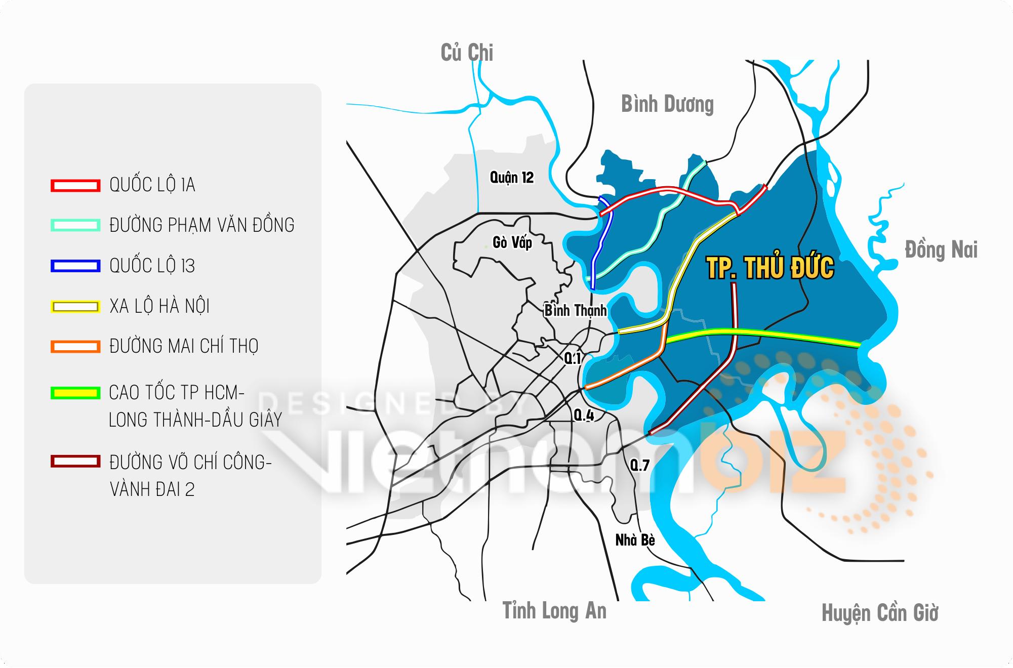Những mảnh ghép kiến tạo nên hạ tầng khu Đông Sài Gòn - Ảnh 3.