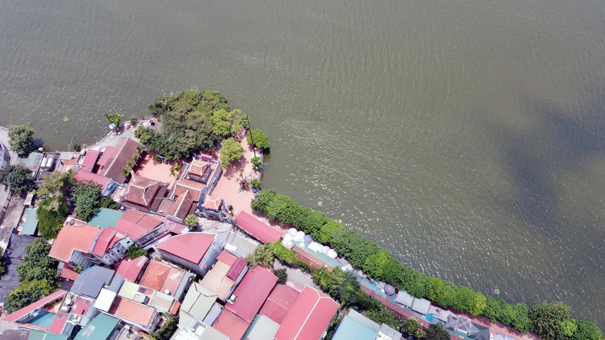 Cận cảnh những 'bán đảo' ngay giữa trung tâm Hà Nội - Ảnh 22.