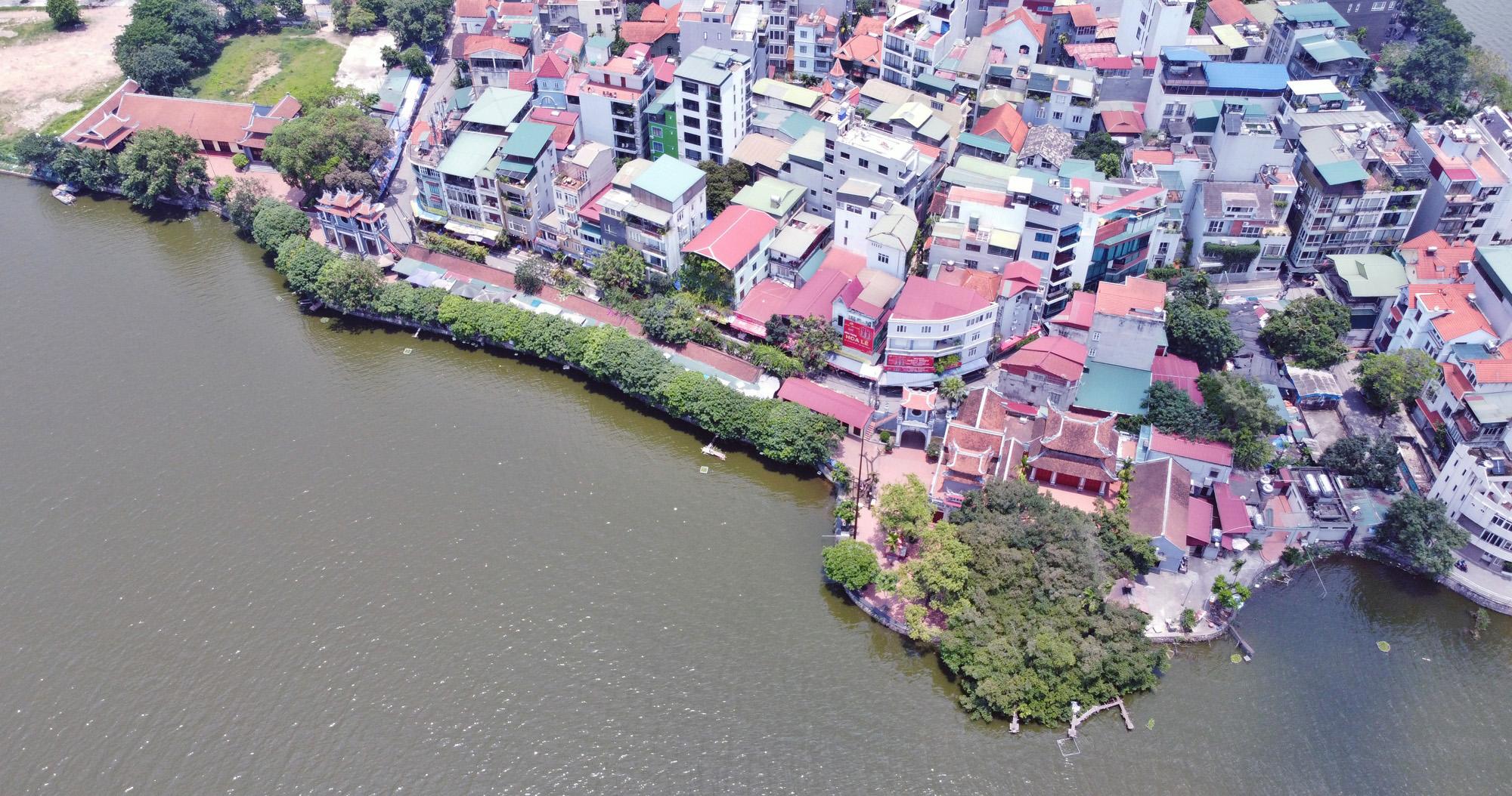Cận cảnh những 'bán đảo' ngay giữa trung tâm Hà Nội - Ảnh 24.