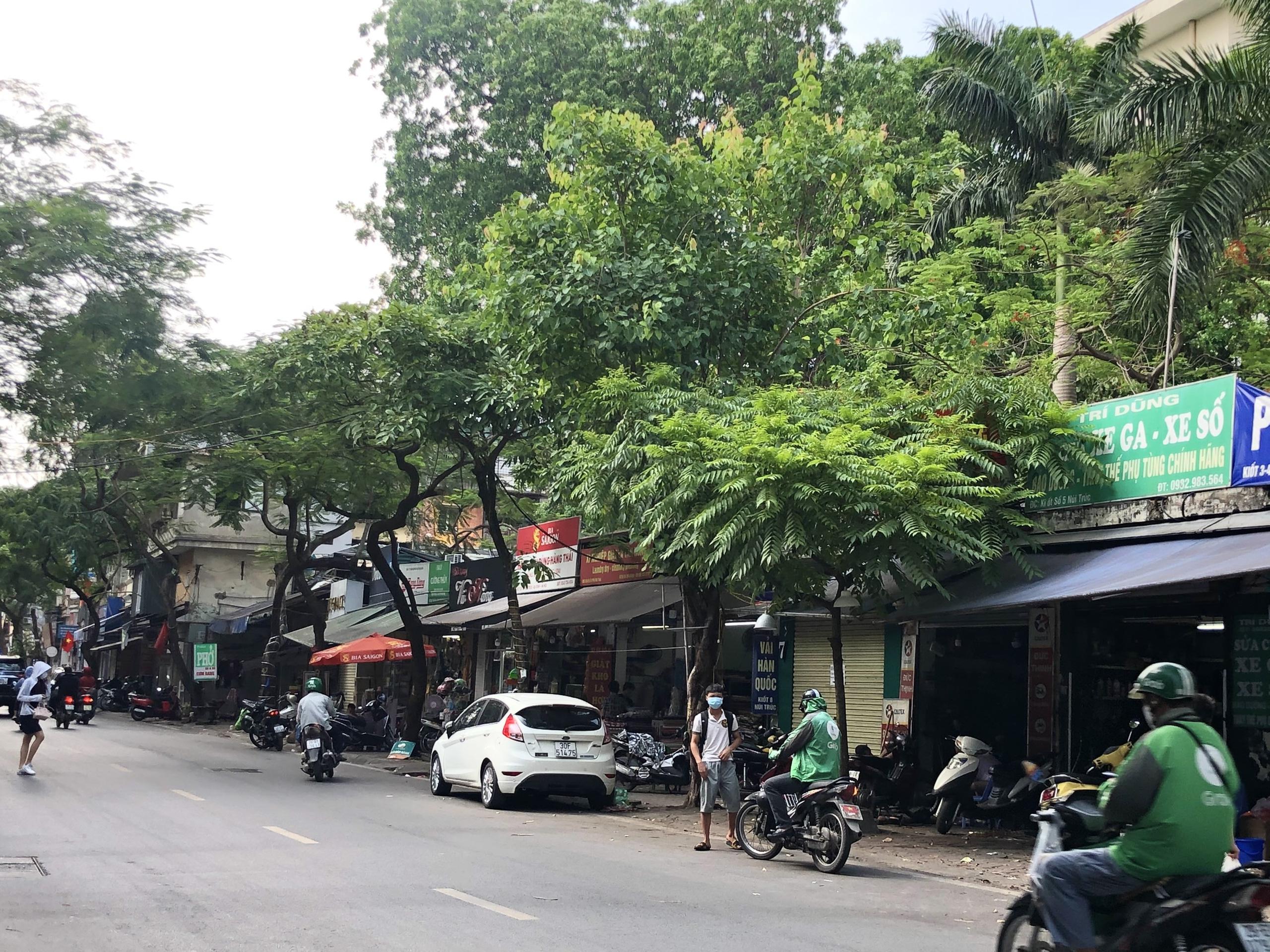 Đường sắp mở theo quy hoạch ở phường Kim Mã, Ba Đình, Hà Nội (phần 2): Mở rộng phố Núi Trúc  - Ảnh 11.