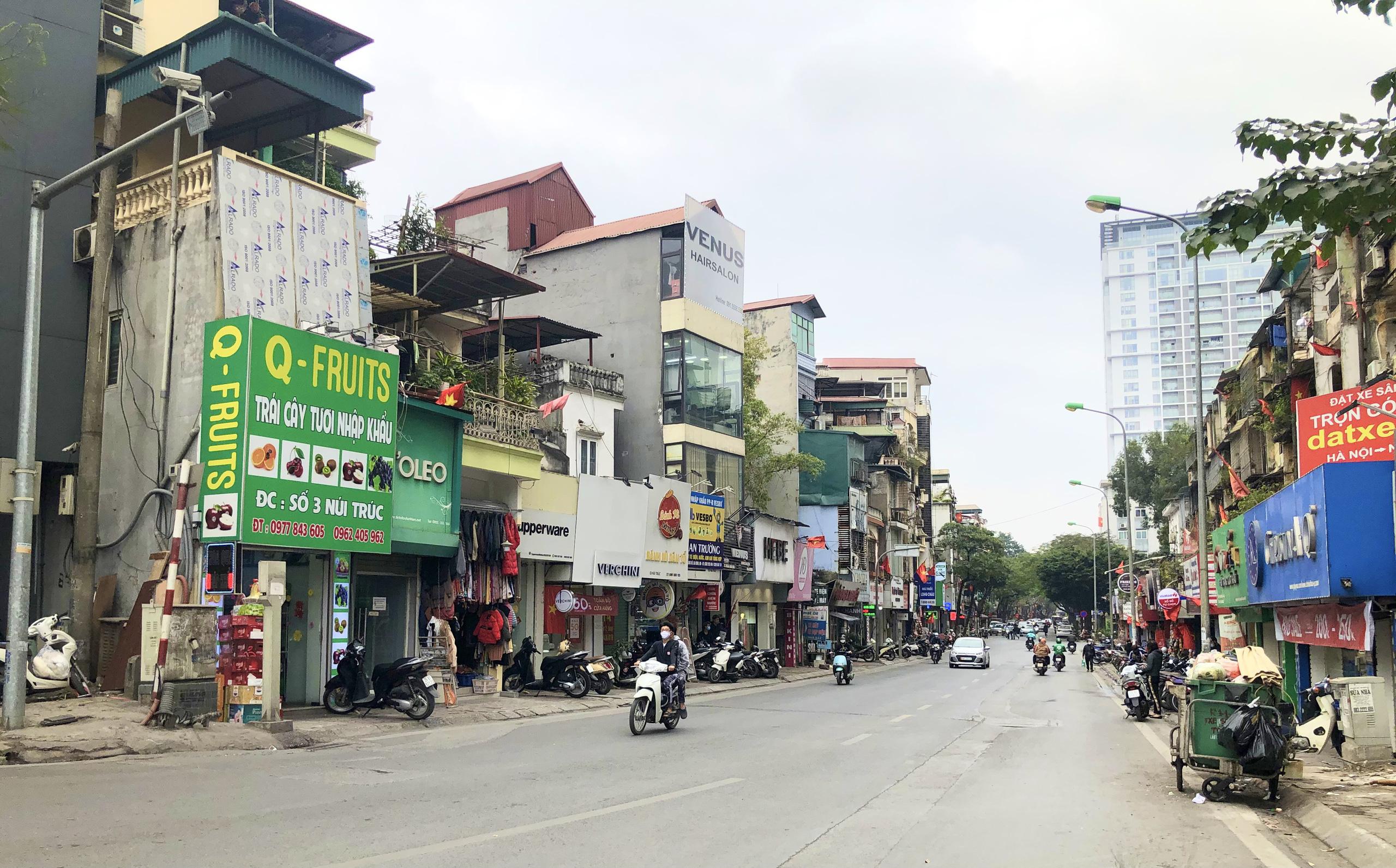 Đường sắp mở theo quy hoạch ở phường Kim Mã, Ba Đình, Hà Nội (phần 2): Mở rộng phố Núi Trúc  - Ảnh 3.
