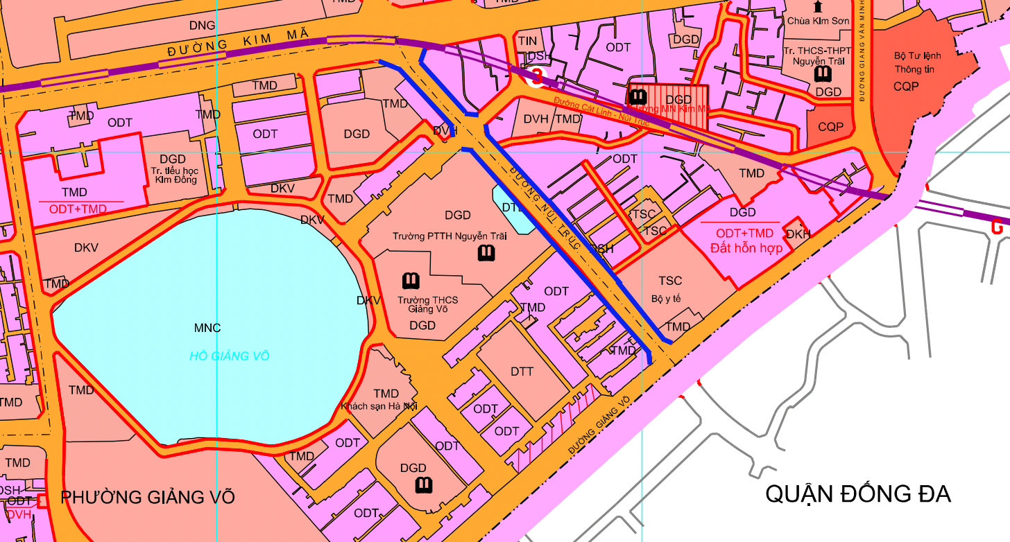 Đường sắp mở theo quy hoạch ở phường Kim Mã, Ba Đình, Hà Nội (phần 2): Mở rộng phố Núi Trúc  - Ảnh 1.