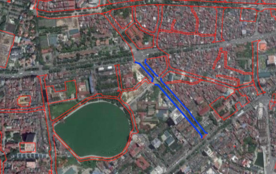 Đường sắp mở theo quy hoạch ở phường Kim Mã, Ba Đình, Hà Nội (phần 2): Mở rộng phố Núi Trúc  - Ảnh 2.