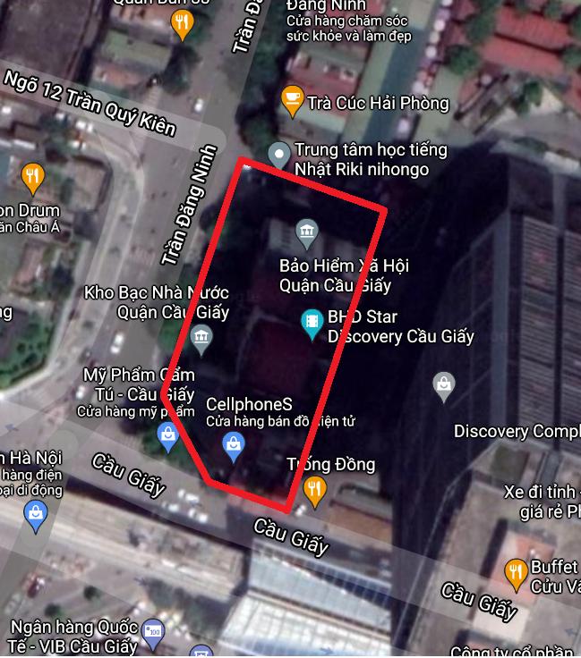 Những khu đất dính quy hoạch ở phường Dịch Vọng, Cầu Giấy, Hà Nội - Ảnh 3.