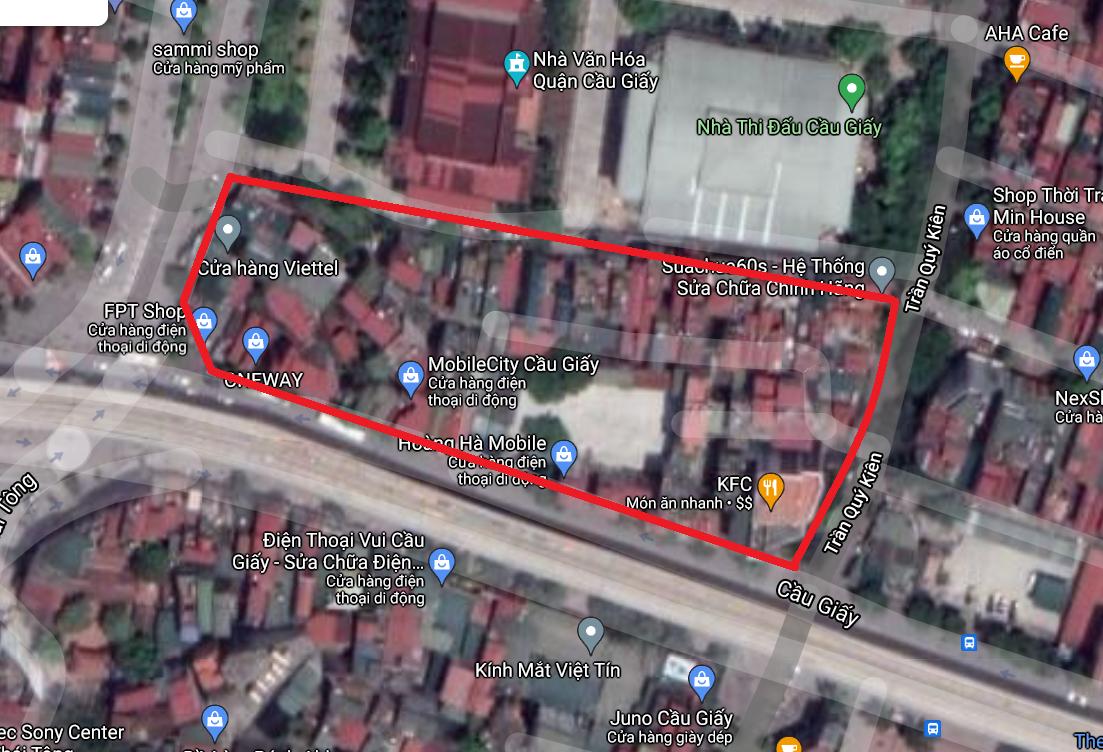 Những khu đất dính quy hoạch ở phường Dịch Vọng, Cầu Giấy, Hà Nội - Ảnh 7.