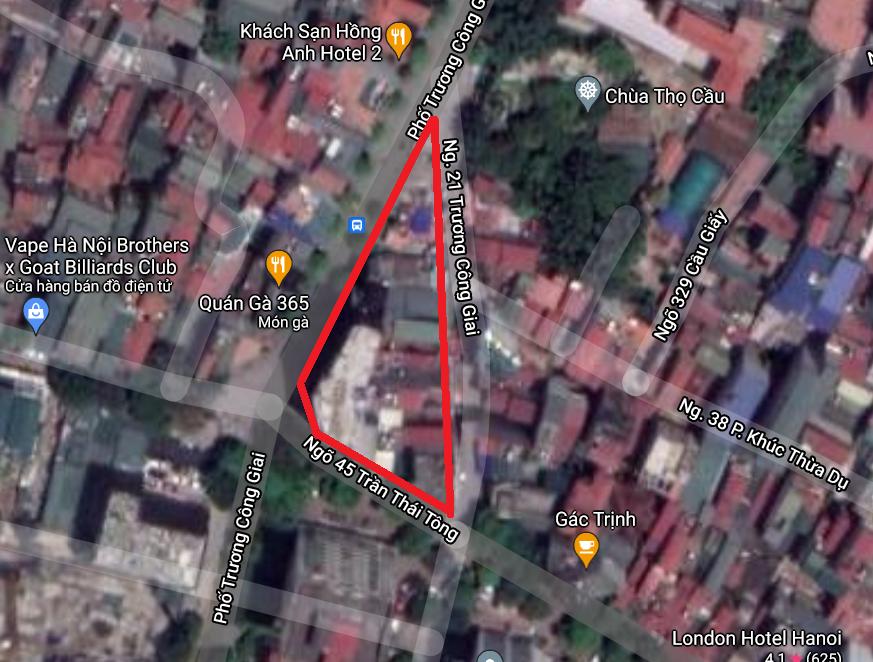 Những khu đất dính quy hoạch ở phường Dịch Vọng, Cầu Giấy, Hà Nội - Ảnh 9.