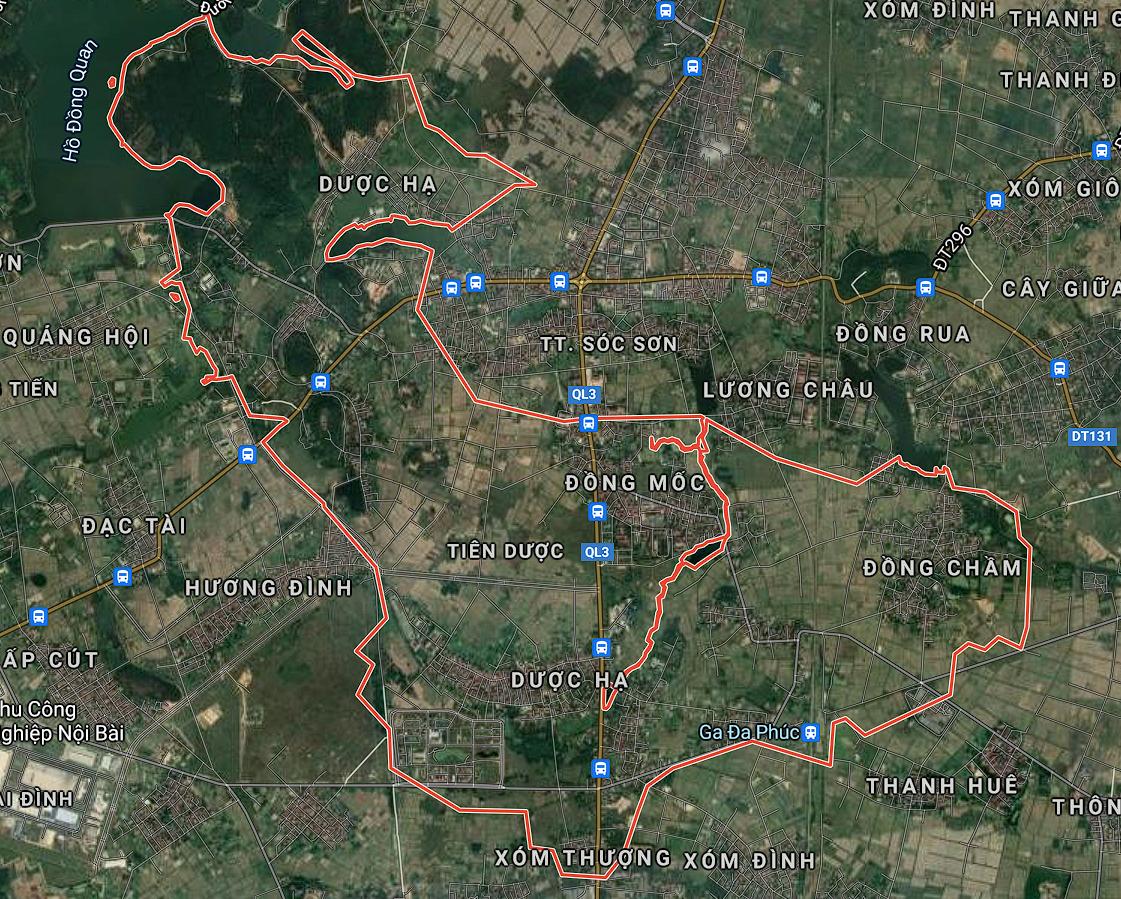 Kế hoạch sử dụng đất xã Tiên Dược, Sóc Sơn, Hà Nội năm 2021 - Ảnh 1.