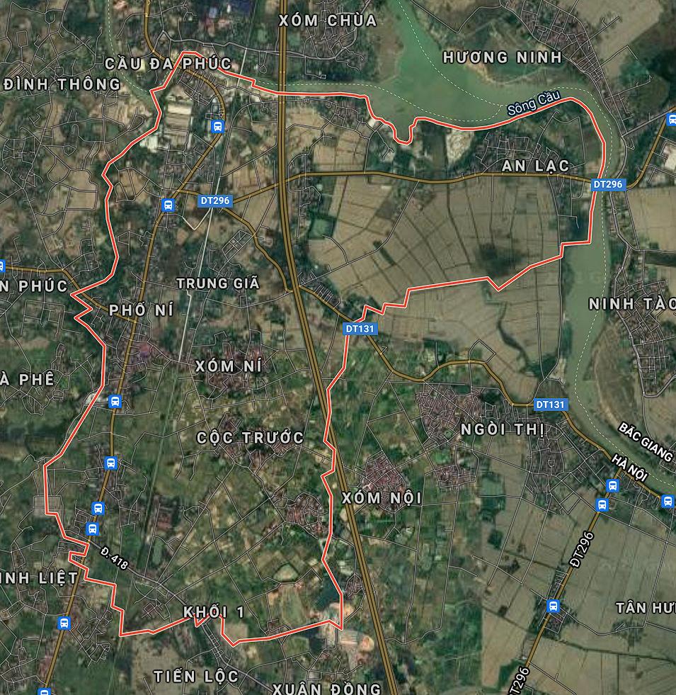Kế hoạch sử dụng đất xã Trung Giã, Sóc Sơn, Hà Nội năm 2021 - Ảnh 1.