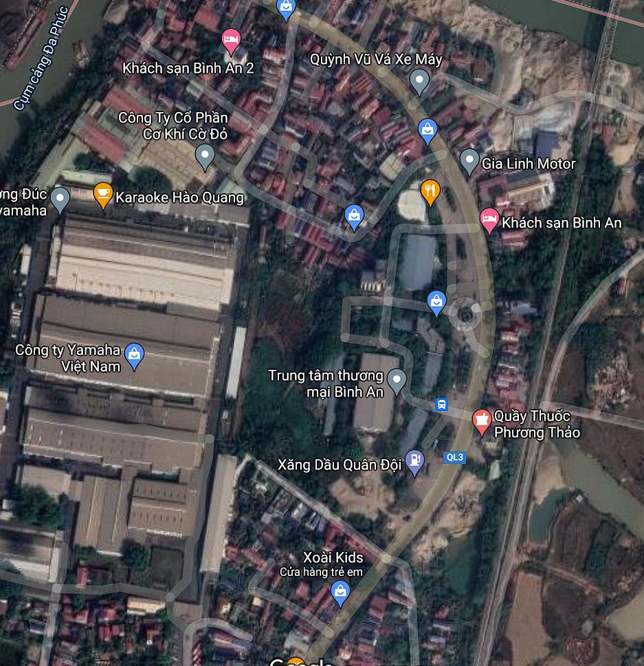 Đất dính quy hoạch ở xã Trung Giã, Sóc Sơn, Hà Nội - Ảnh 2.