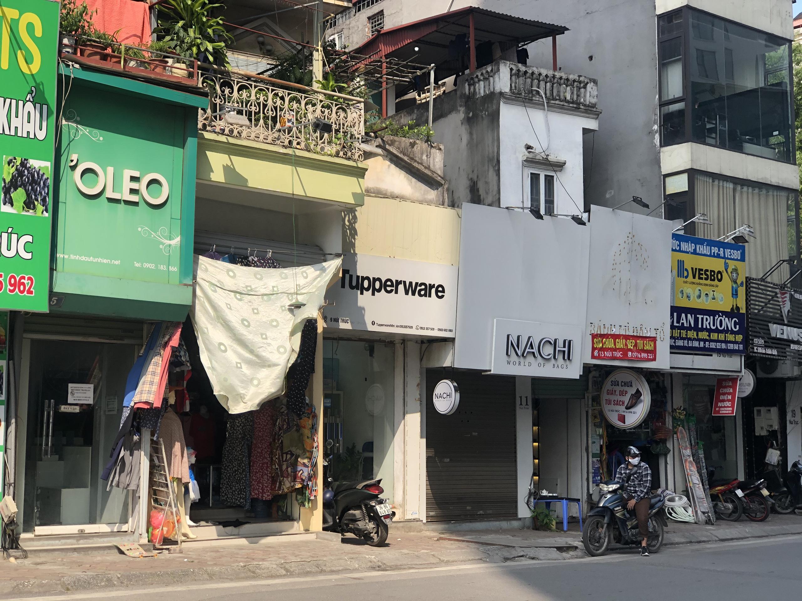Đường sắp mở theo quy hoạch ở phường Kim Mã, Ba Đình, Hà Nội (phần 2): Mở rộng phố Núi Trúc  - Ảnh 4.