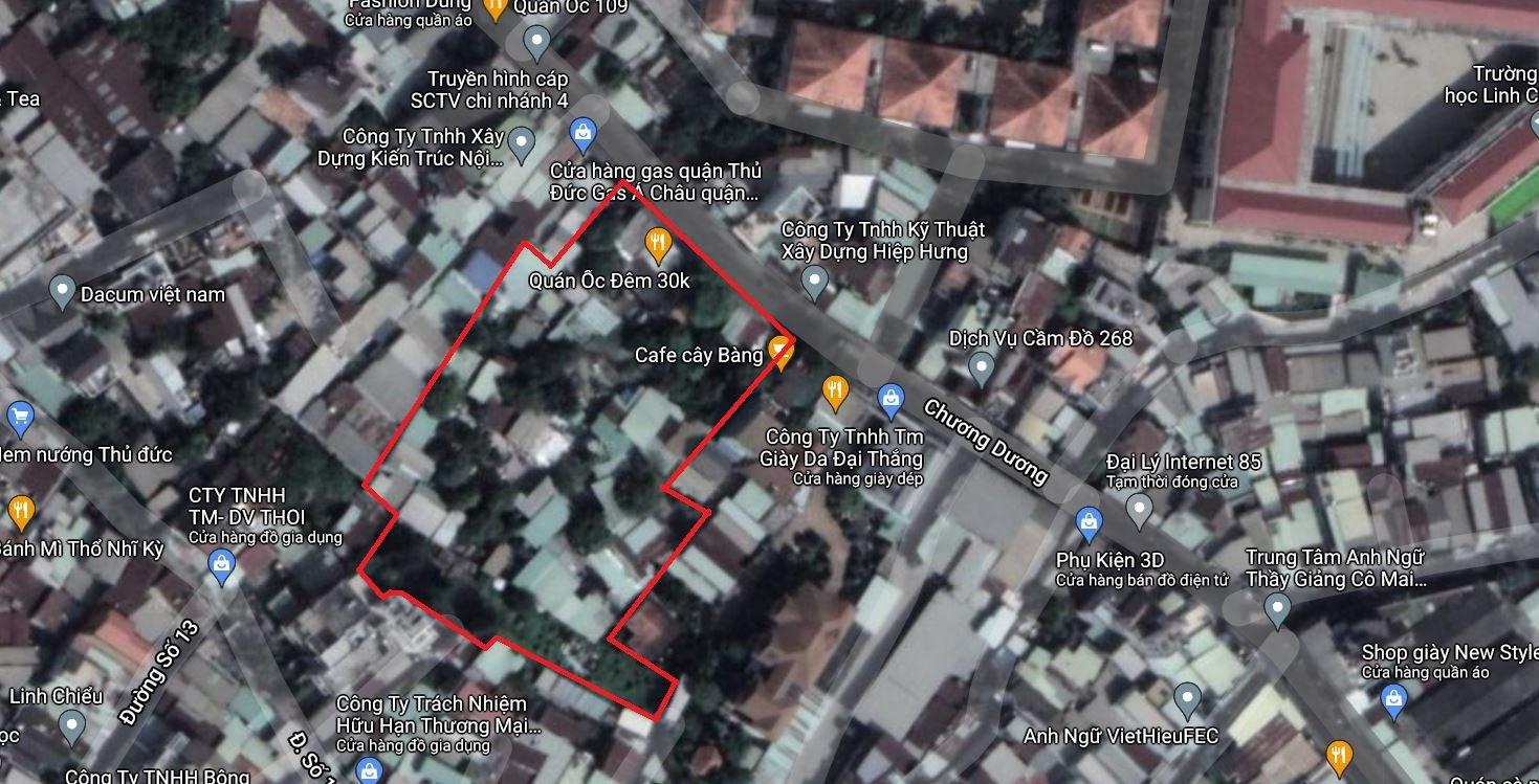 4 khu đất dính quy hoạch tại phường Linh Chiểu, TP Thủ Đức - Ảnh 2.
