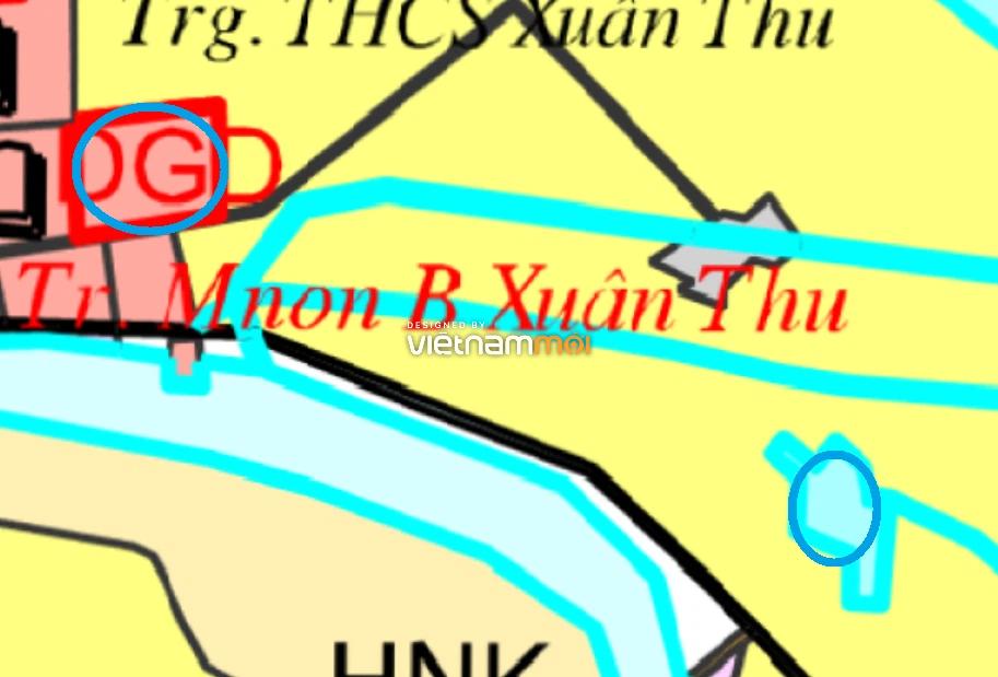 Đất dính quy hoạch ở xã Xuân Thu, Sóc Sơn, Hà Nội - Ảnh 1.