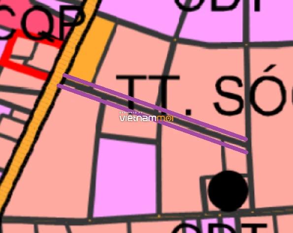 Đường sẽ mở ở thị trấn Sóc Sơn, Sóc Sơn, Hà Nội - Ảnh 1.