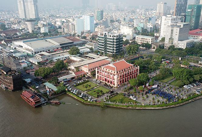 Siêu dự án tại Cảng Nhà Rồng - Khánh Hội có thể phải đấu giá đất  - Ảnh 1.
