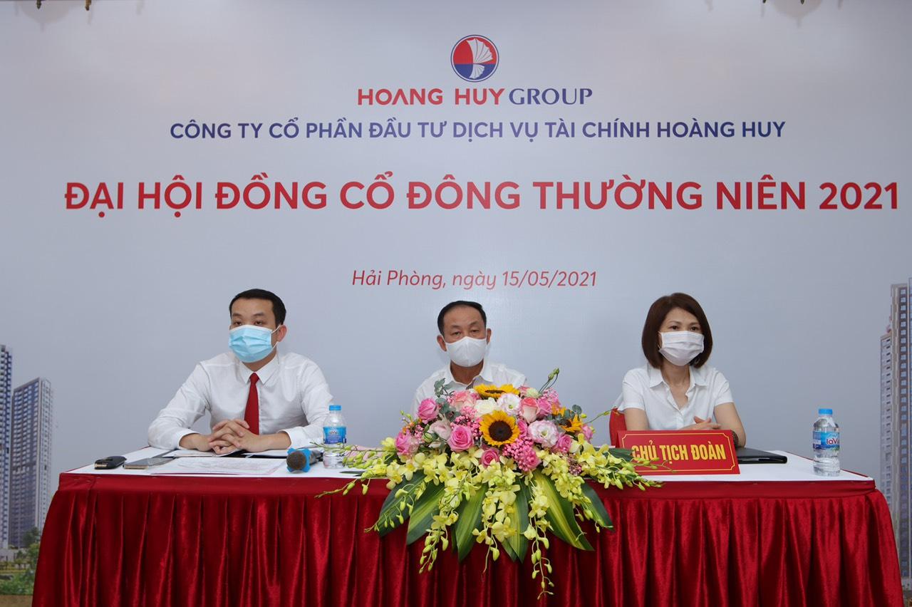 ĐHĐCĐ Tài chính Hoàng Huy: Đồng loạt triển khai các dự án lớn sắp tới, sắp IPO công ty bất động sản - Ảnh 1.