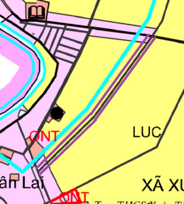 Đường sẽ mở ở xã Xuân Thu, Sóc Sơn, Hà Nội - Ảnh 1.