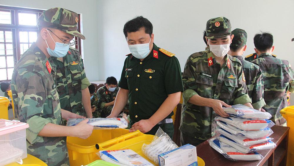 Các khu công nghiệp ở Bắc Giang: Dồn sức chống dịch, không để lao động ngoại tỉnh về quê - Ảnh 2.