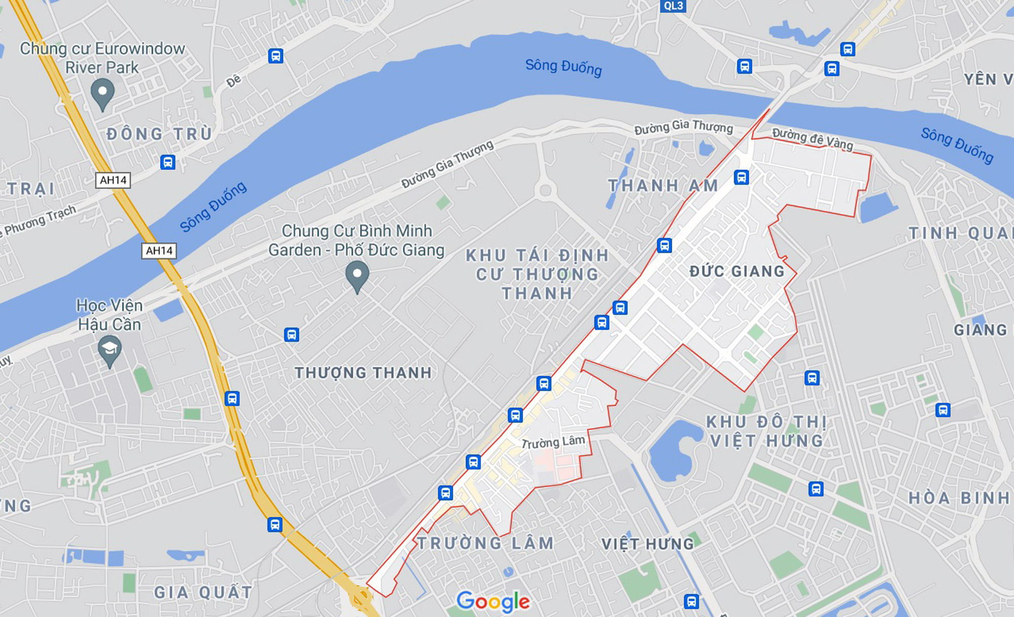 Những khu đất sắp thu hồi để mở đường ở phường Đức Giang, Long Biên, Hà Nội (phần 1) - Ảnh 1.