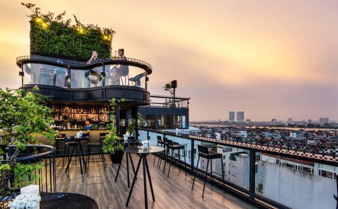 Khách sạn ở Hà Nội đứng đầu hạng mục khách sạn có tầng thượng đẹp nhất thế giới - Ảnh 1.