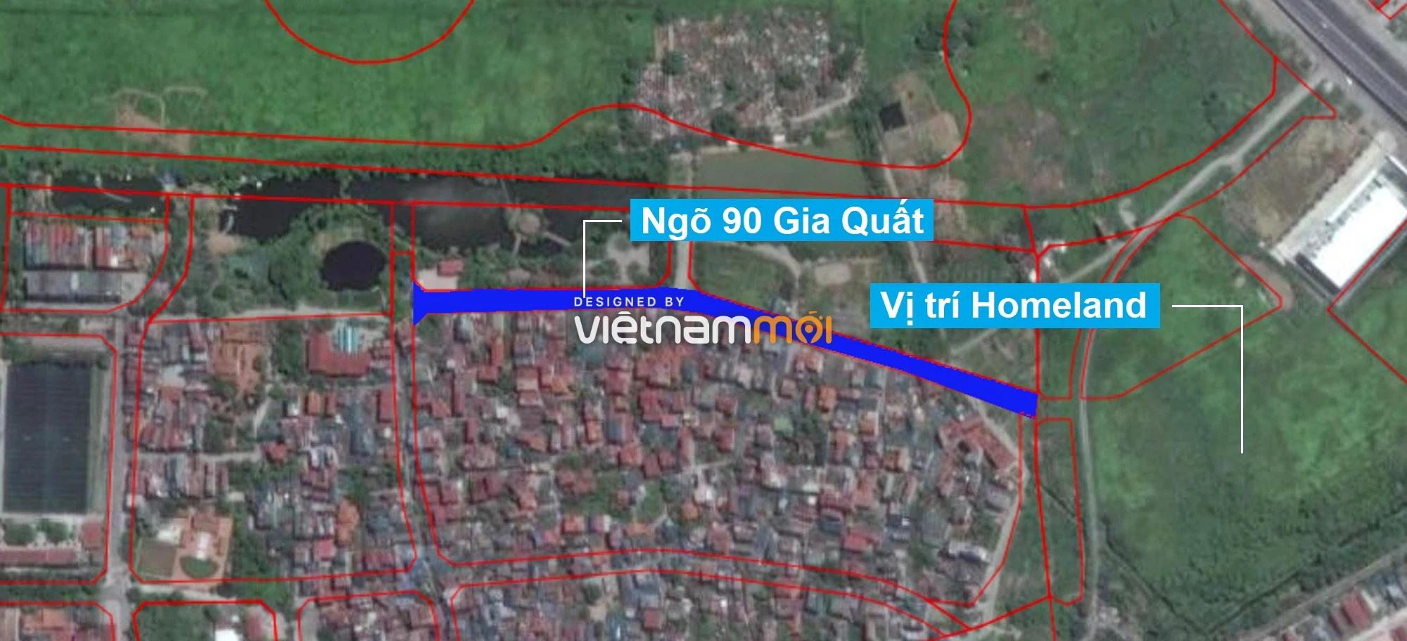 Những khu đất sắp thu hồi để mở đường ở phường Thượng Thanh, Long Biên, Hà Nội (phần 1) - Ảnh 2.