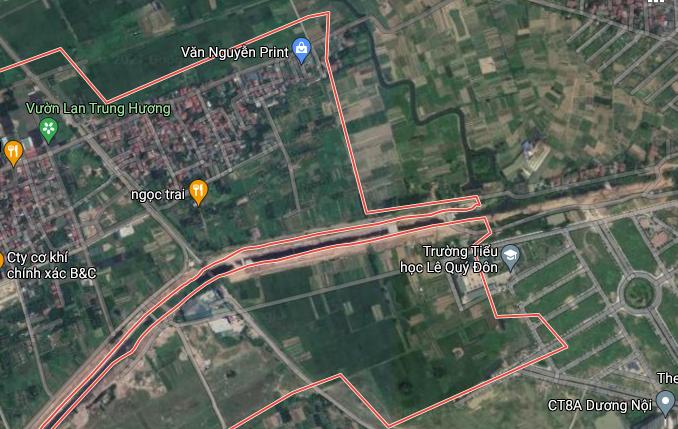 Đất dính quy hoạch ở xã Đông La, Hoài Đức, Hà Nội - Ảnh 2.