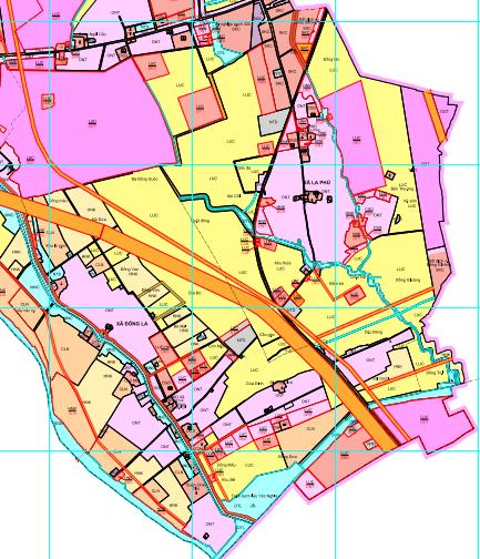 Bản đồ quy hoạch sử dụng đất xã La Phù, Hoài Đức, Hà Nội - Ảnh 2.