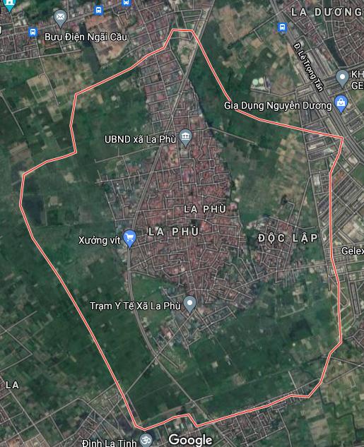 Bản đồ quy hoạch sử dụng đất xã La Phù, Hoài Đức, Hà Nội - Ảnh 1.