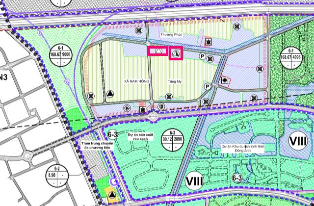 Đất dính quy hoạch ở xã Nam Hồng, Đông Anh, Hà Nội - Ảnh 1.