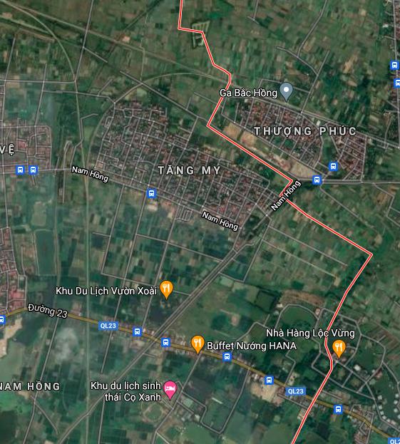 Đất dính quy hoạch ở xã Nam Hồng, Đông Anh, Hà Nội - Ảnh 2.