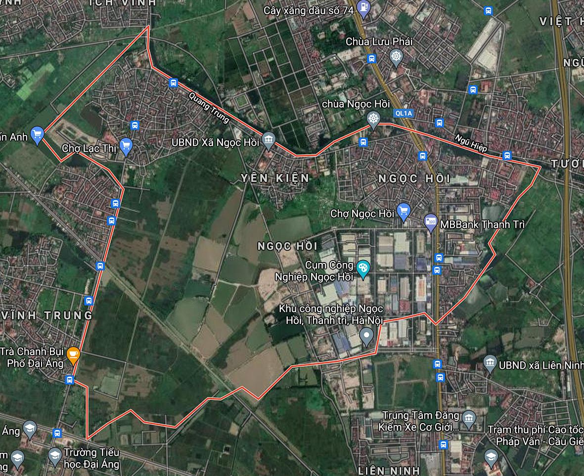 Kế hoạch sử dụng đất xã Ngọc Hồi, Thanh Trì, Hà Nội năm 2021 - Ảnh 2.