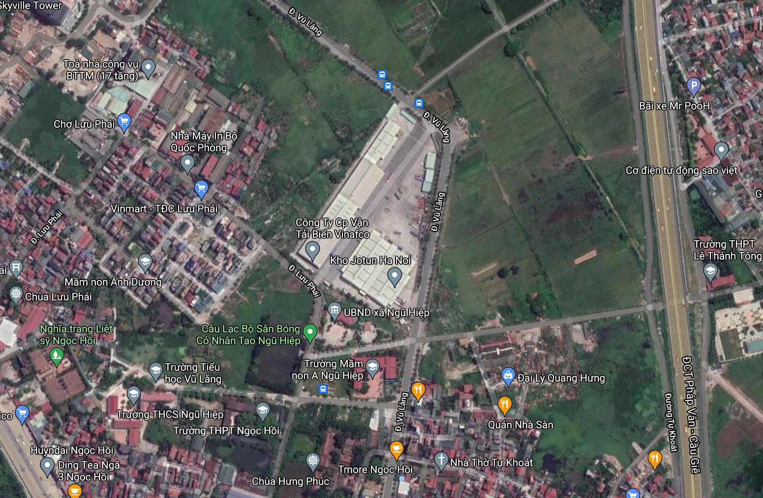 Đất dính quy hoạch ở xã Ngũ Hiệp, Thanh Trì, Hà Nội - Ảnh 2.