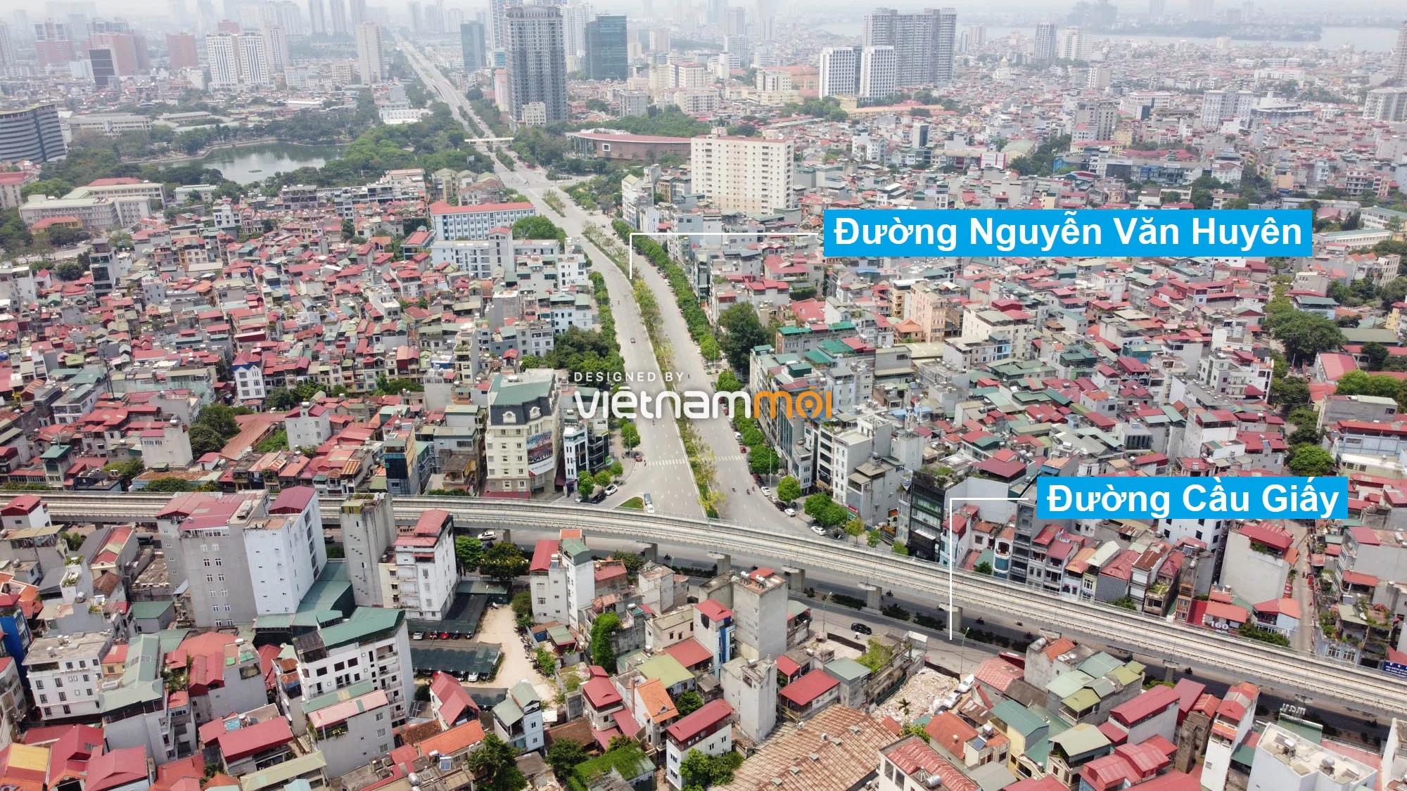 Vành đai 2,5 sẽ mở theo quy hoạch qua quận Cầu Giấy, Hà Nội - Ảnh 2.
