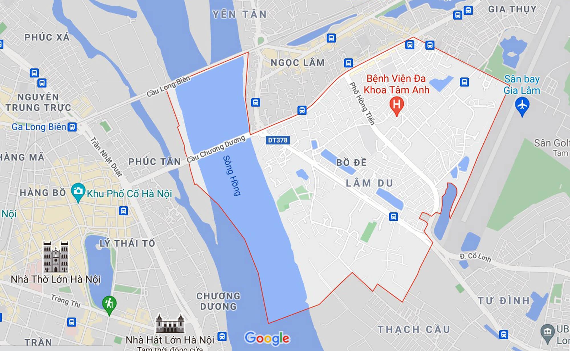 Những khu đất sắp thu hồi để mở đường ở phường Bồ Đề, Long Biên, Hà Nội (phần 2) - Ảnh 1.