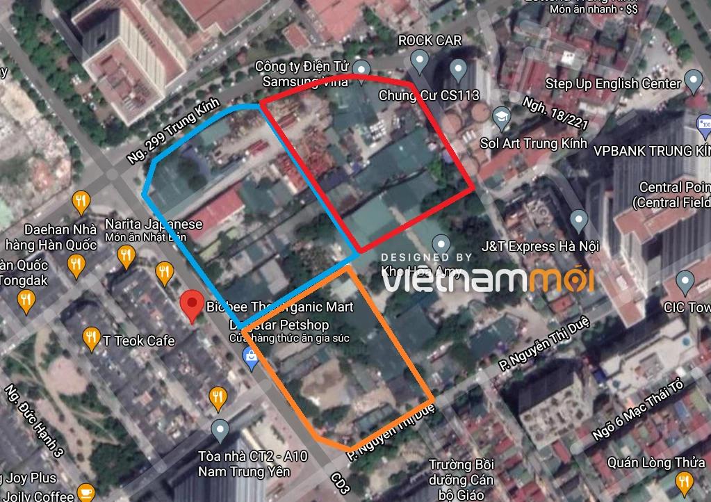 Những khu đất dính quy hoạch ở phường Trung Hòa, Cầu Giấy, Hà Nội (phần 1) - Ảnh 10.