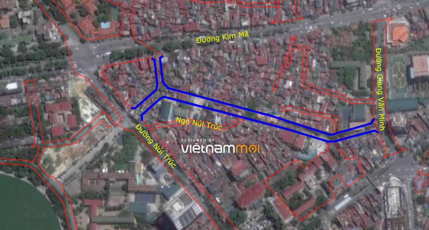 Những khu đất sắp thu hồi ở phường Kim Mã, Ba Đình (phần 3): Hai đường nối từ Núi Trúc đến Kim Mã và Giang Văn Minh - Ảnh 2.