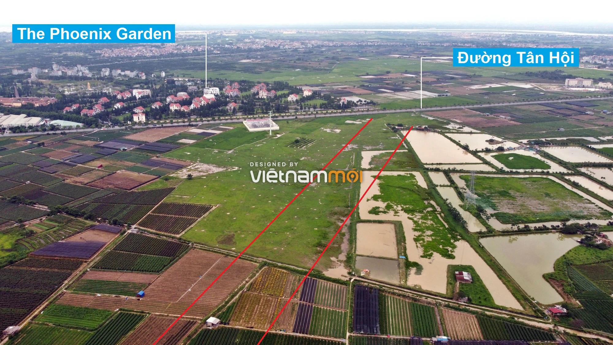 Đường Vành đai 4 sẽ mở theo quy hoạch qua huyện Hoài Đức, Hà Nội - Ảnh 1.