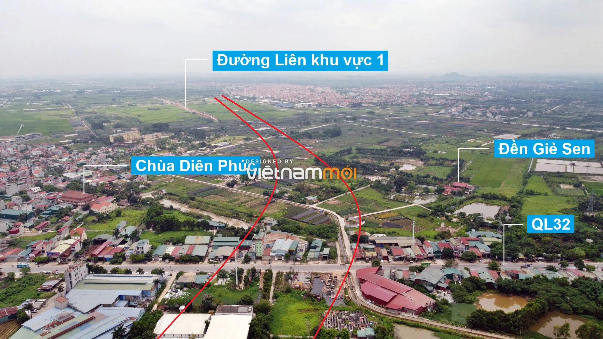 Đường Vành đai 4 sẽ mở theo quy hoạch qua huyện Hoài Đức, Hà Nội - Ảnh 3.