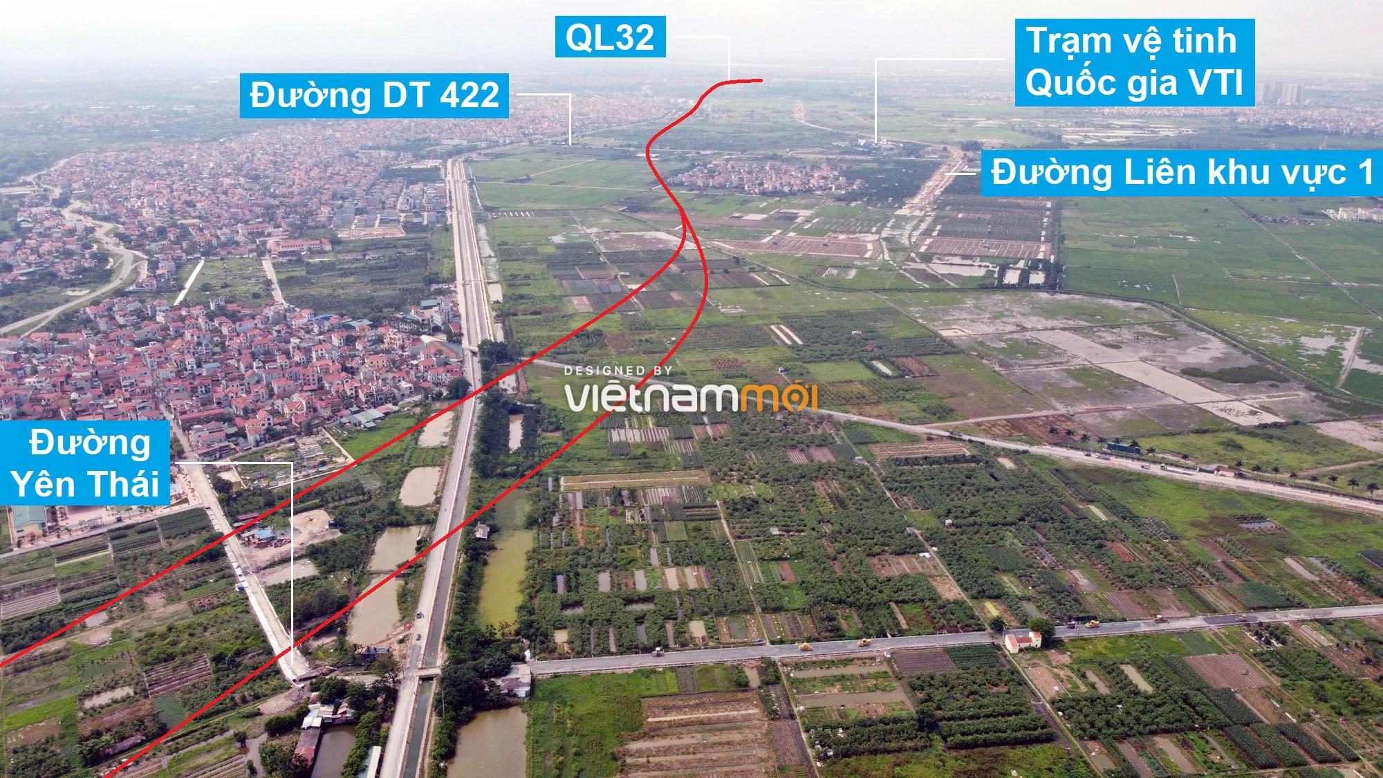 Đường Vành đai 4 sẽ mở theo quy hoạch qua huyện Hoài Đức, Hà Nội - Ảnh 6.