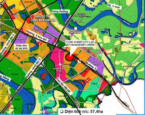 Công bố điều chỉnh quy hoạch phân khu đô thị N11 tại ô quy hoạch xây dựng Trụ sở BCH Quân sự huyện Gia Lâm - Ảnh 1.